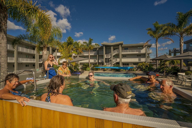 Pool and spa facilities